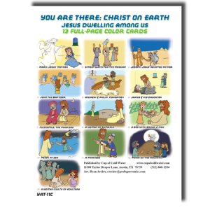 Cards for Jesus Dwelling Among Us
